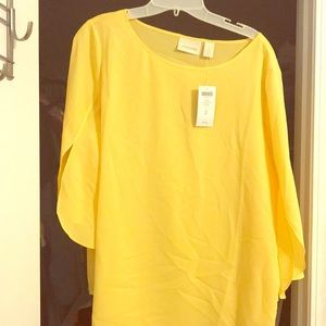 """Brand NEW Chico's """"Size 2"""" Tulip Sleeve 3/4 Blouse"""